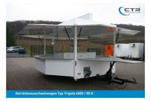 Gebrauchter Ausschankwagen Typ Trigefa'