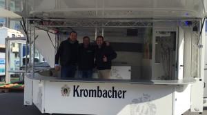 Verkaufsleiter Christoph Kesten,  Carsten Boller und Michael Bonefas
