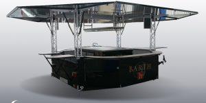 Weinausschankwagen für Weingut Barth