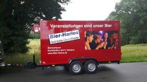 Kühlanhänger für Bier-Harlos