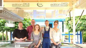 Jörg Stark, Lothar Braun, Lisa-Marie Steffen, Maurice Drauden, Jessica Odenthal (von links nach rechts)