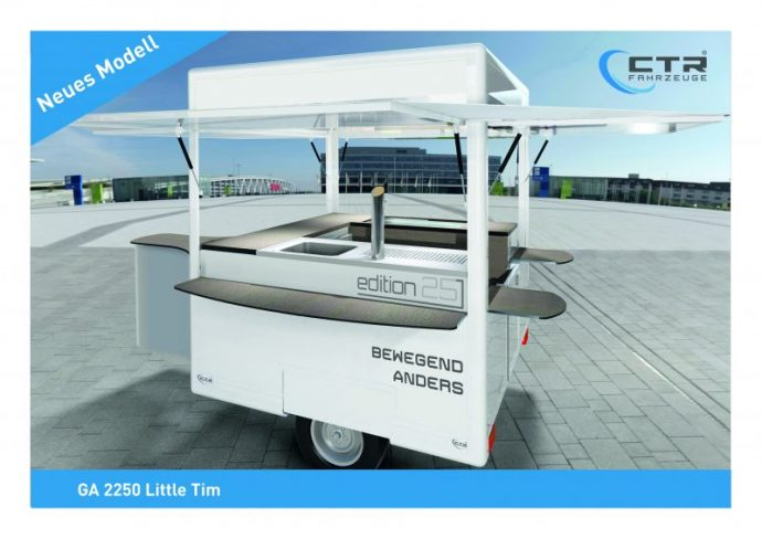 CTR Getränkeausschankwagen Modell Little Tim