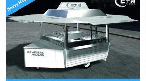 Kleiner Verkaufswagen Modell Gondel