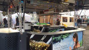 Weinverkaufswagen auf den Rheinhessischen Agrartagen