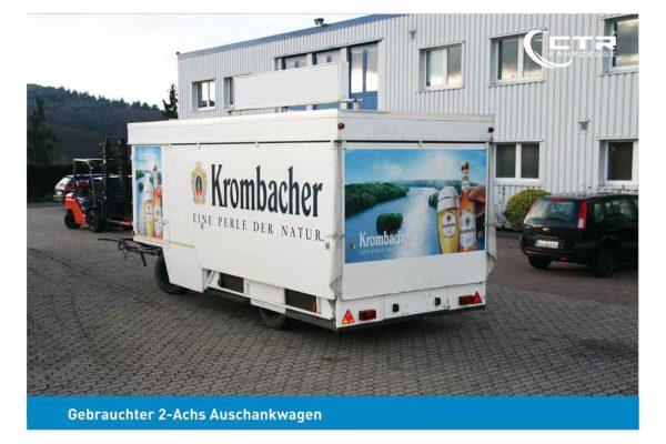 Gebrauchter Getränkeausschankwagen