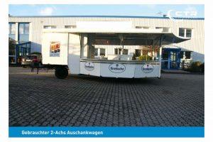 Gebrauchter Ausschankwagen mit Kühlhaus'