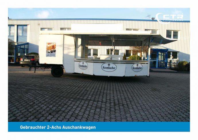 Gebrauchter Ausschankwagen mit Kühlhaus