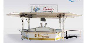 Ausschankwagen für Lacher's Getränkewelt