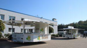 Die Fahrzeuge für die Hochdorfer Brauerei