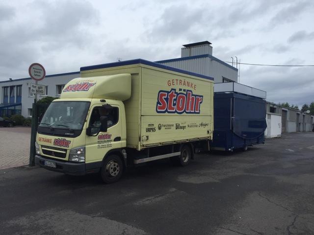 CTR überarbeitet Ausschankwagen für Getränke Stöhr