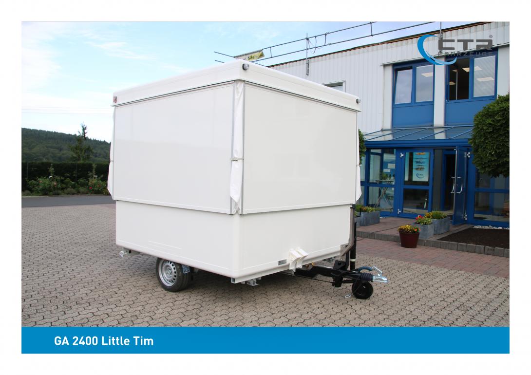 CTR Gebrauchtwagen GA 2400 Little Tim geschlossen kleiner Ausschankwagen