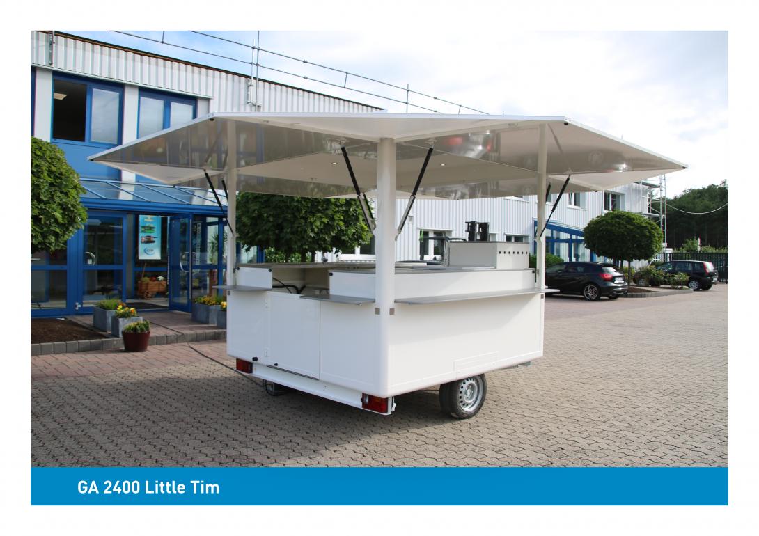 CTR Gebrauchtwagen GA 2400 Little Tim offen kleiner Ausschankwagen