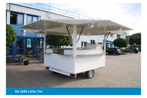 CTR Gebrauchtwagen GA 2400 Little Tim offen kleiner Ausschankwagen'