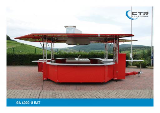 CTR Gebrauchtfahrzeuge GA 4000-8 EAT Grillwagen'