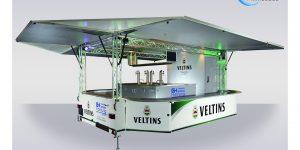 Neu im Fuhrpark von Getränke Hornung: Der GA 5000-8-EKT