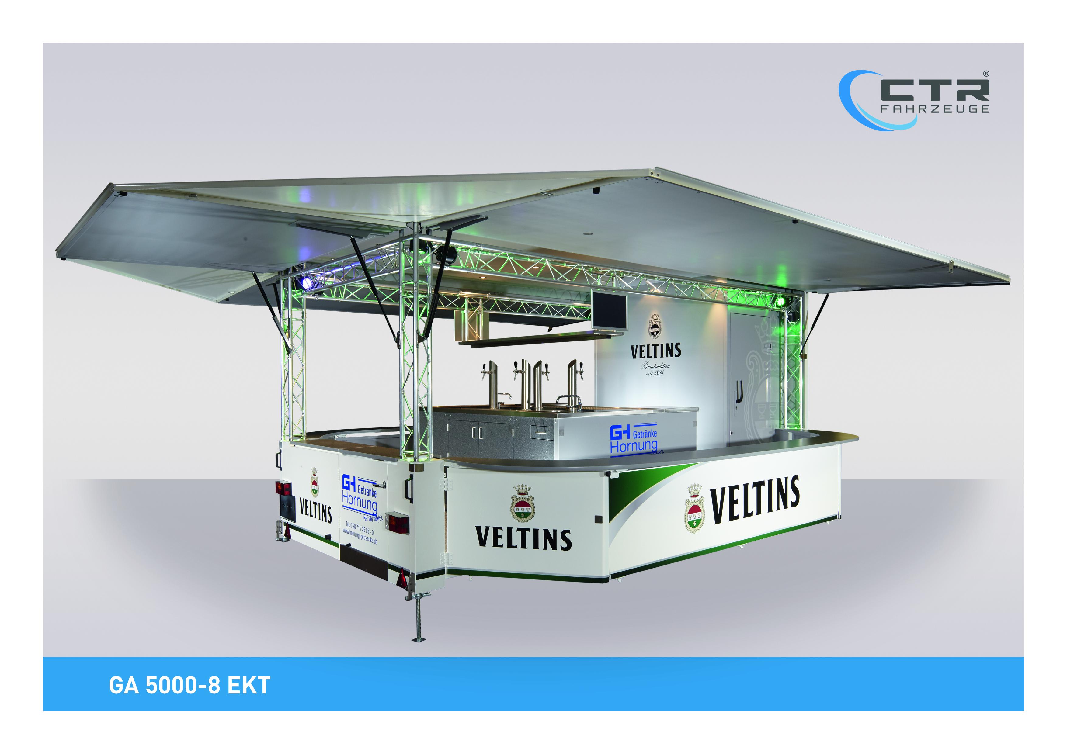 GA 5000-8 EKT ausgeliefert: Getränke Hornung vertraut erneut auf CTR