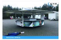 Getränkeausschankwagen Achteck APVN126