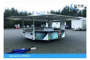 Getränkeausschankwagen Achteck APVN126'