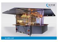 Grillfahrzeug GA 4000-6 EAT Pasta Wagen Fratantonio Traversensystem Heckansicht