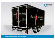 Kühlanhänger TKH Neumann, Wallhausen heck