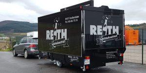 Bald of Events on tour: der neue Ausschankwagen von Getränke Vertrieb Reith