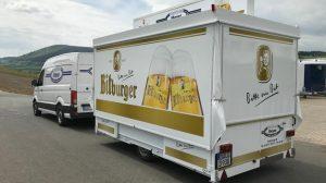 Im neuen Bitburger-Design ein echter Hingucker.