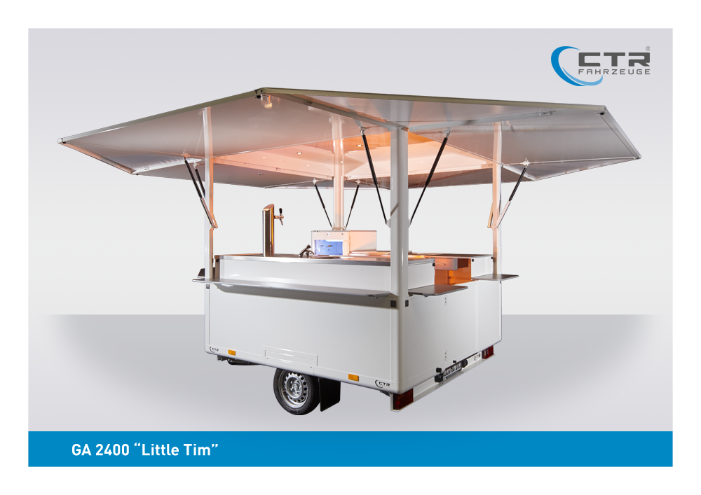 CTR Getränkeausschankwagen Modell Little Tim Vorführfahrzeug