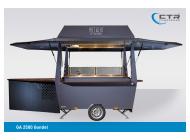 Kleiner Getränkeausschankwagen GA 2500 Gondel dishes and more kleiner Grillwagen