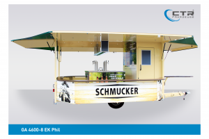 Getränkeausschankwagen GA 4600-8 EK Phil Schmucker Brauerei'