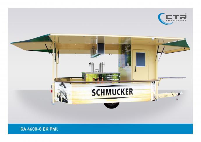 Getränkeausschankwagen GA 4600-8 EK Phil Schmucker Brauerei