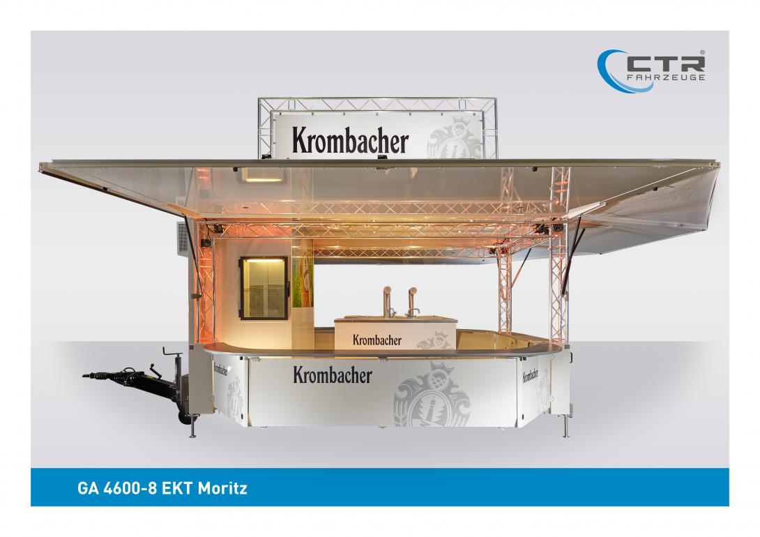 Ausschankwagen GA 4600-8 EK Traverse Krombacher