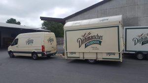 Der GA 4000 8 EK Shirin für die Dithmarscher  Brauerei.