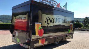 Der neue Wagen für den Schaustellerbetrieb Markus Hausmann.