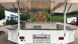 Getränke Demuth kann sich auf angenehme Verkaufstage freuen.