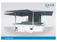 Getränkeausschankwagen Vorführfahrzeug GA 5000-8 EK mit Kühlhaus