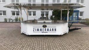 Der neue Wagen von FZ Getränke.