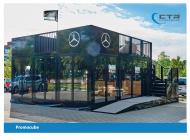 Promotion Anhänger Promocube Mercedes-Benz