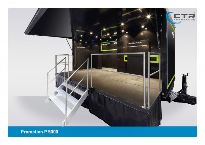 Promotion Anhänger Promocube P 5000 Punkt1 Meet Mini