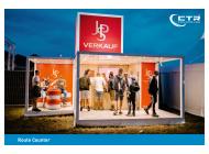 Promotion Anhänger Promocube Route Counter JPS Verkauf