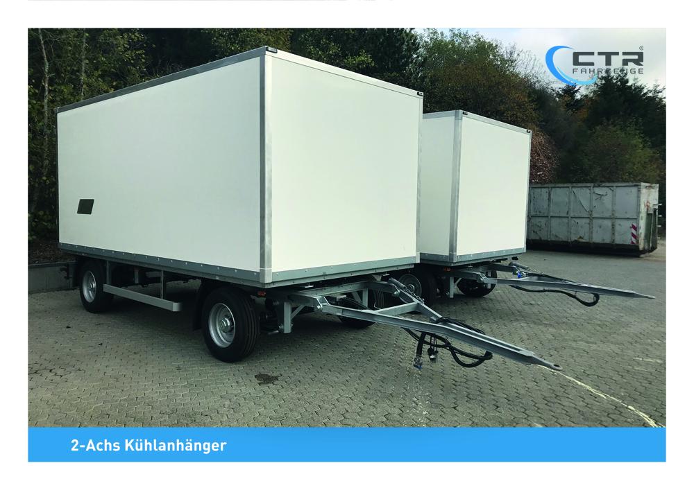 2-Achs Kühlanhänger 10,5 to. 5 mtr. (1)