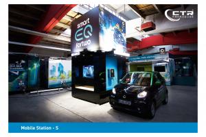 Promotionanhänger Mobile Station-S mit Hubdach'