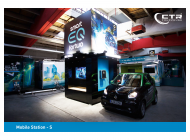 Promotionanhänger Mobile Station-S mit Hubdach