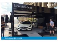 Promocube Route Counter Big Square Mercedes AMG
