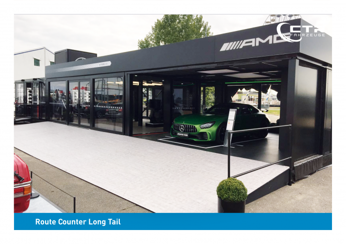 Promocube Big Square Mercedes AMG