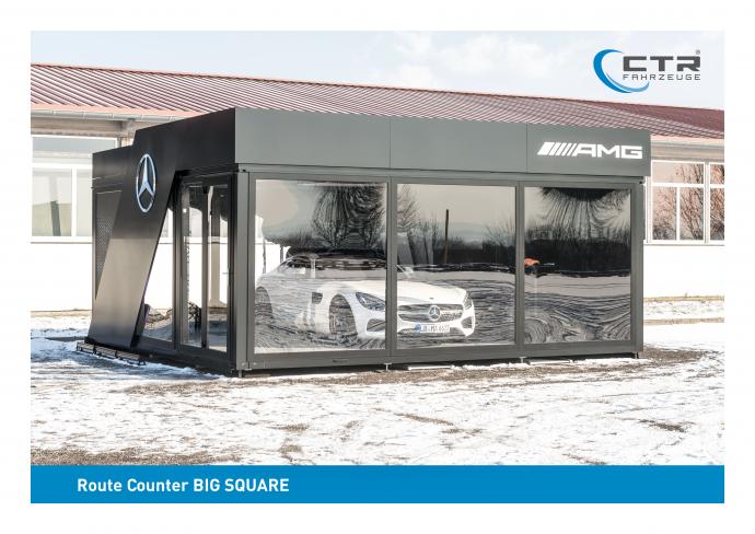 Promocube Promotion Anhänger Big Square Mercedes AMG
