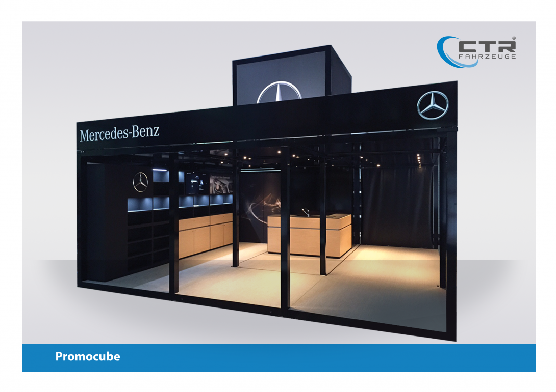 Promocube Route Counter Big Square Mercedes