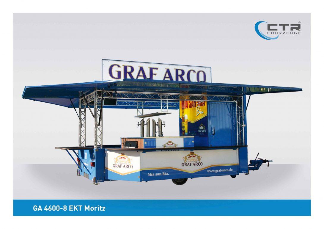 Ausschankwagen GA 4600-8 EK Traverse Moritz Arco Valley Kühlhaus
