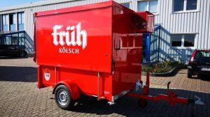 Der Partycooler für G +P in Leverkusen.