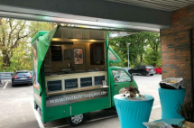Foodtruck Suppenmobil Piaggio Porter