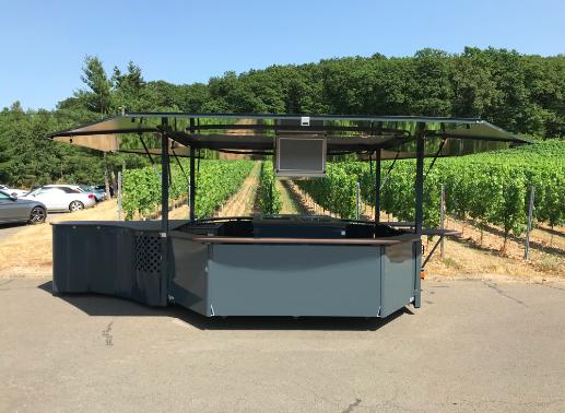 1 CTR Weinausschankwagen